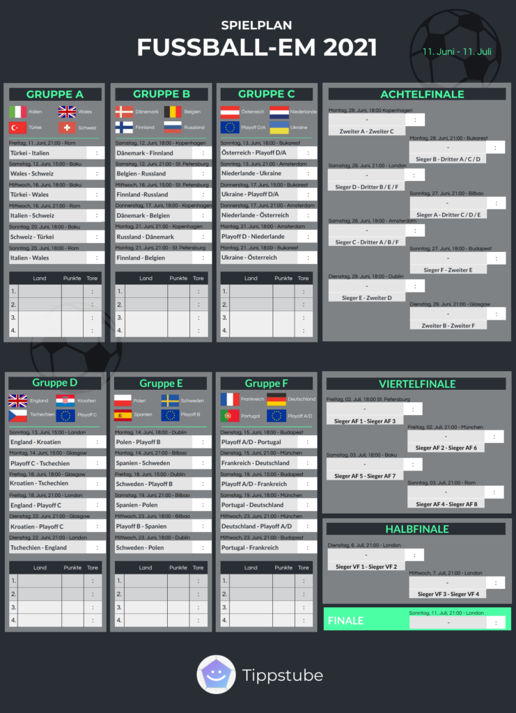 Em 2021 Spielplan Pdf Download